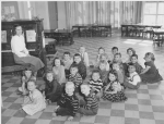 Brookside - Kindergarten  Front '5' -- Barbara George, ?, ? Bobby Wilson, Mike Eaton  Row 2 -- Kay Hutchins, Dave Barr