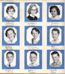 ELIOT School: Row 1: Sharon Huseth, Kathleen Nelson, Barbara Tanner  Row 2: Sally Mills, Shirley Holland. Pat Yahn  Row
