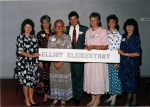 25th Eliot Reunion-1986 - Vickie Lee Anderson, Claudia Kutzler, Phyllis Wise, James Sidwell, Kay Moran, Diane Koelfgen,