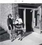 'Going to Mitchell Hall at St. Cloud' L>R: Linda Hosker & Nancy McDaniel